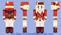 Klee | Genshin Impact Minecraft Skin