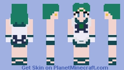 (Sailor Moon) Sailor Neptune Skin Minecraft Skin