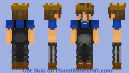 AZCraft SMP Member: AuspopMusicals (Adventure Mode). Minecraft Skin