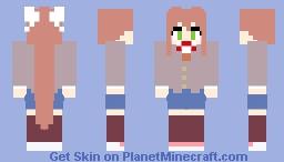(DDLC) Monika Skin Minecraft Skin