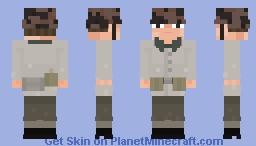 SS - Mann, 3. SS - Panzer - Division Totenkopf. Budapest, 1943 Minecraft Skin