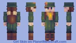 Snufkin Minecraft Skin