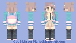 chiaki nanami | danganronpa v2 Minecraft Skin
