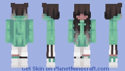 slippery feathers Minecraft Skin