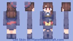 𝒜𝓉𝓈𝓊𝓀𝑜 𝒦𝒶𝑔𝒶𝓇𝒾 (𝒜𝓀𝓀𝑜 𝒻𝓇𝑜𝓂 𝐿𝒾𝓉𝓉𝓁𝑒 𝒲𝒾𝓉𝒸𝒽 𝒜𝒸𝒶𝒹𝑒𝓂𝒾𝒶) Minecraft Skin
