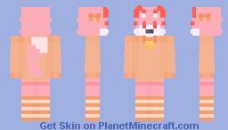 Cherry Soda (Old oc, remade) Minecraft Skin