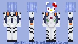 Rei Ayanami Hello Kitty Ver. Minecraft Skin