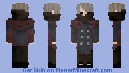 industrial style rain coat Minecraft Skin