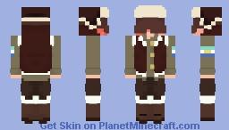 Snowchester tubbo remake! Minecraft Skin
