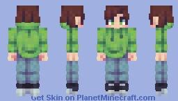 🌱 green beans 🌱 Minecraft Skin