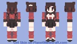 do u wanna die | danganronpa v3 Minecraft Skin