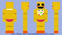 FNAF 2 : Toy Chica (Fallen Beak) Minecraft Skin