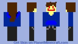 Killer girl V2 (Java) Minecraft Skin