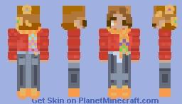 Re-shaded skin for Alderleaf's contest Minecraft Skin