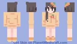 pumpkin - skintober day 1 Minecraft Skin