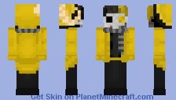 Halloween Blake Doctor Minecraft Skin