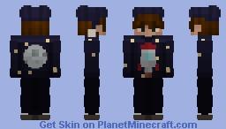 I wanna go to  the mooon Minecraft Skin