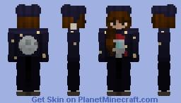 I wanna go to the moon Minecraft Skin