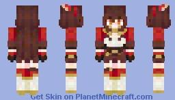 Amber | Genshin Impact Minecraft Skin