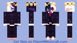 if the crown fits.. Minecraft Skin