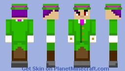 the theme park owner Minecraft Skin
