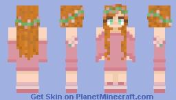 Princess Giselle Minecraft Skin