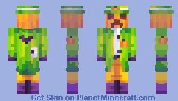 pumpkin? aw man Minecraft Skin