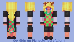 Noelle Holiday OW Minecraft Skin