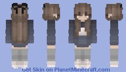 ♡ Blue Moon Girl Minecraft Skin