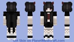 ♡ Vampire Demon Girl Minecraft Skin