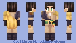 Claude, King of Unification - Fire Emblem: Three Houses Minecraft Skin