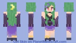 Halloween (Cute Witch) Minecraft Skin