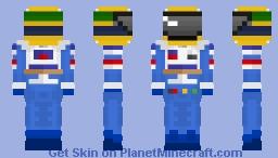 Ayrton Senna - Williams Minecraft Skin