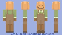 {The boy next door wears a pumpkin on his head} Minecraft Skin