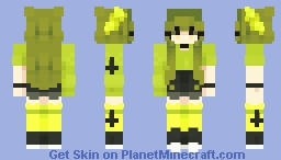 skintober day 6 ; toxic Minecraft Skin