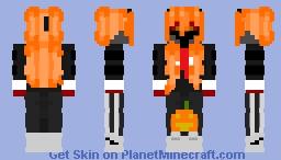 StarCadges - Halloween Skin (Base Skin: For Dimond__Girl - Dimond__Girl Halloween skin V2) Minecraft Skin