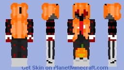StarCadges Halloween e-girl Skin Minecraft Skin