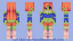Saturn Bound Minecraft Skin