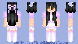 Aphmau~maid Minecraft Skin