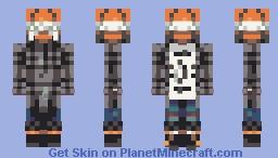 Smile :): Frown Minecraft Skin