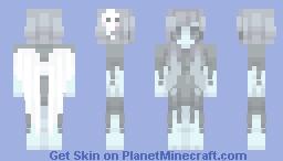 ghost girl Minecraft Skin