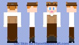 Day 10 Steampunk Minecraft Skin