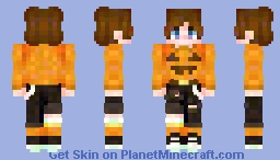 spook sweater 🎃 Minecraft Skin