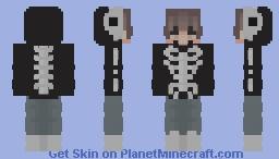 Skeltal Skin Minecraft Skin