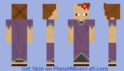 underp9 CREEPYPASTA Character Minecraft Skin