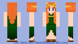 Luna's Loki Costume Recrowned Minecraft Skin
