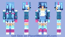 Techno-Lillies Minecraft Skin