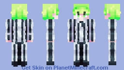 + Beetlejuice - SKINTOBER + Minecraft Skin