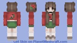 ♡ Watermelon Girl Minecraft Skin