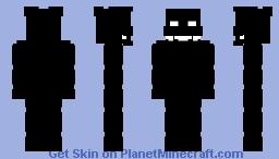FNAF 2 : RWQFSFASXC / Shadow Bonnie Minecraft Skin